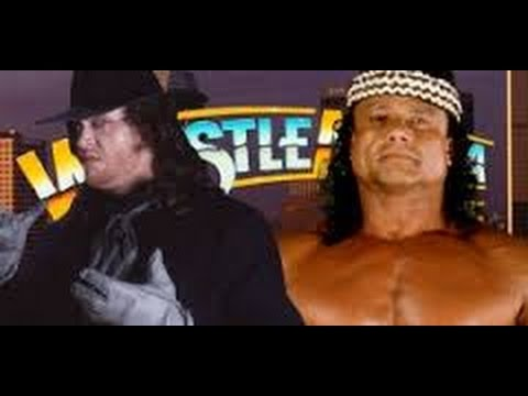 Photo of The Undertaker Wrestlmania 1991 Match