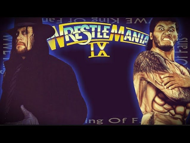 Photo of The Undertaker Wrestlmania 1993 Match