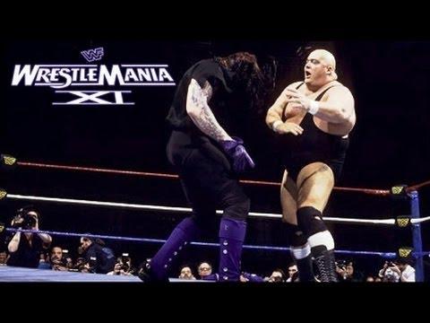 Photo of The Undertaker Wrestlmania 1995 Match