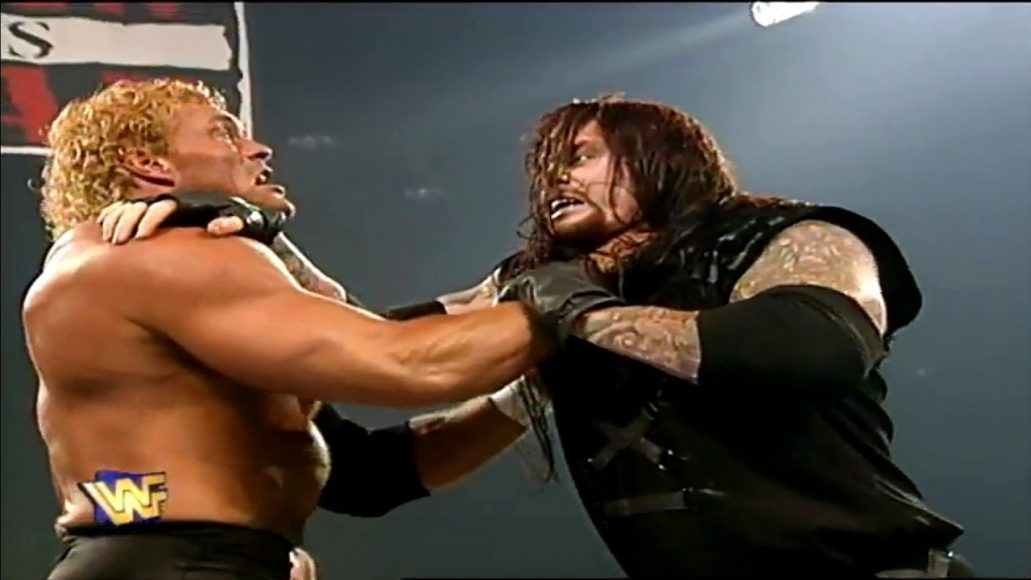 Photo of The Undertaker Wrestlmania 1997 Match