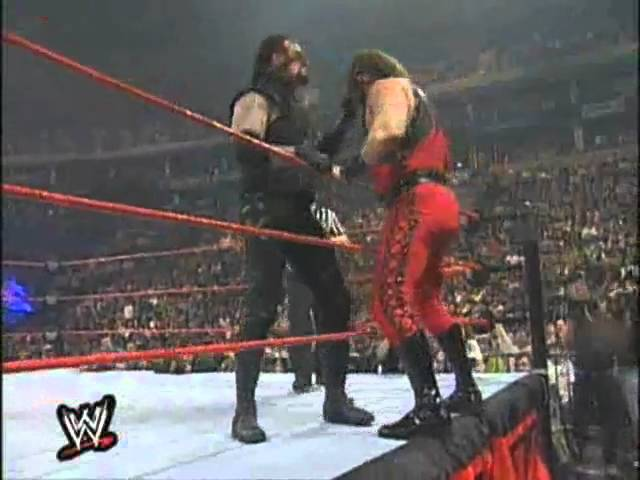 Photo of The Undertaker Wrestmania 1998 Match