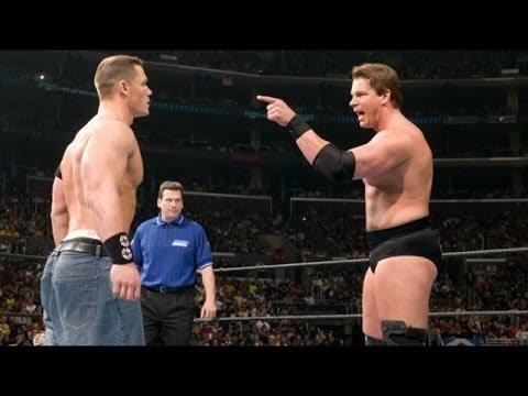 Photo of John Cena Vs JBL At Wrestlmania 2005
