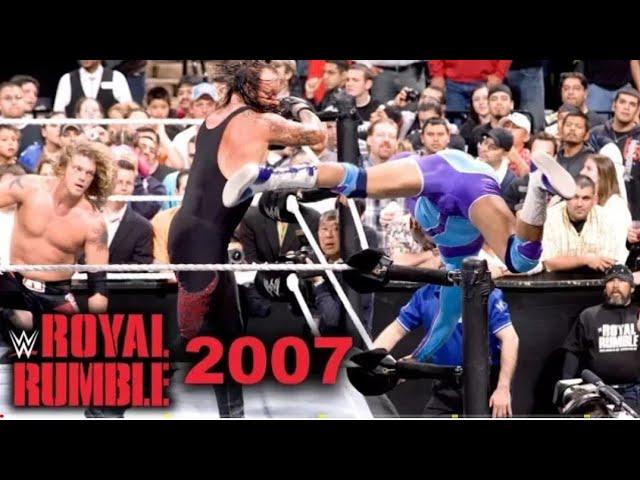 Photo of Royal Rumble 2007 Highlights