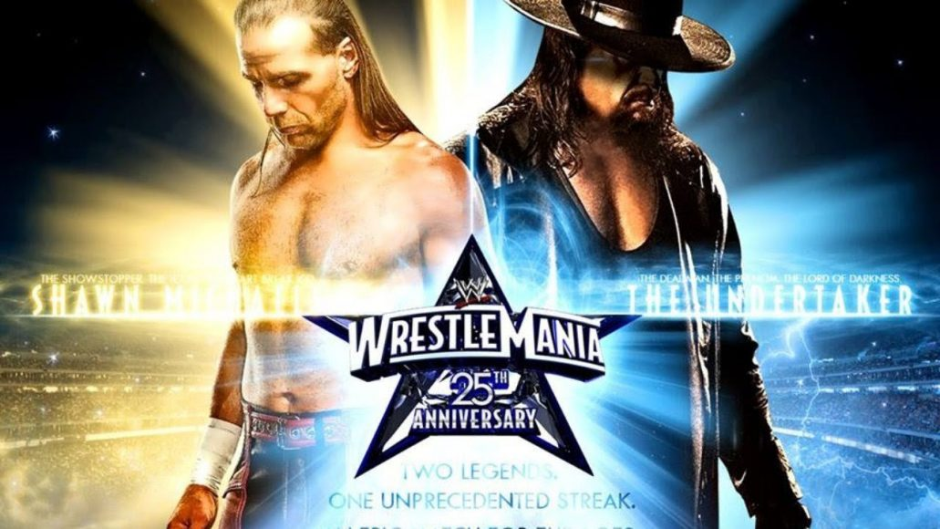 Photo of The Undertaker Vs Shawn Michles At Wrestlmania 2009