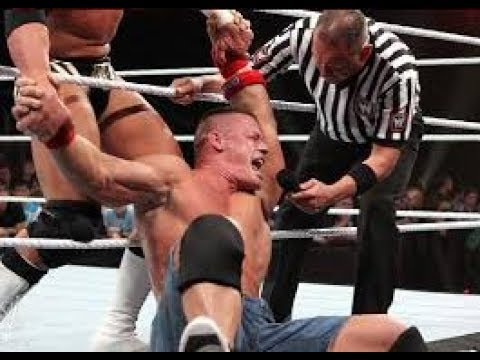 Photo of John Cena Vs The Miz At Wrestlmania 2011