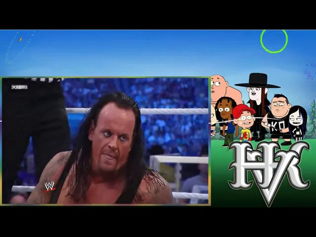 Photo of The Undertaker Vs Tripal H At Wrestlmania 2011