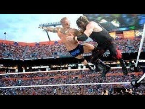 Photo of Randy Orton Vs Kane At Wrestlmania 2012