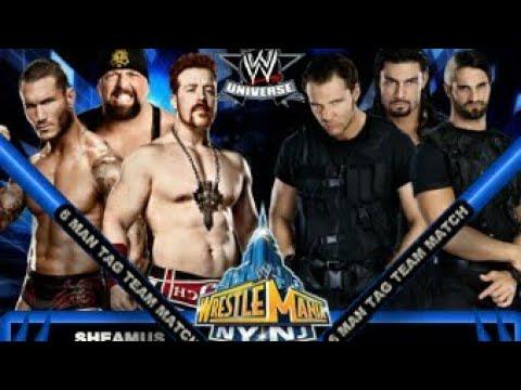 Photo of The Shield vs Randy Orton Sheamus & Big Show At Wrestlmania 2013