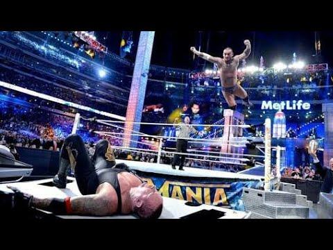 Photo of The Undertaker Vs Cm Punk At Wrestlmania 2013