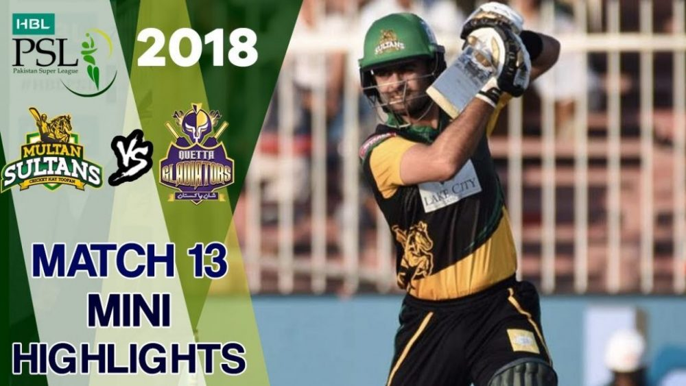 Photo of Psl 2018 Match 13 Highlights