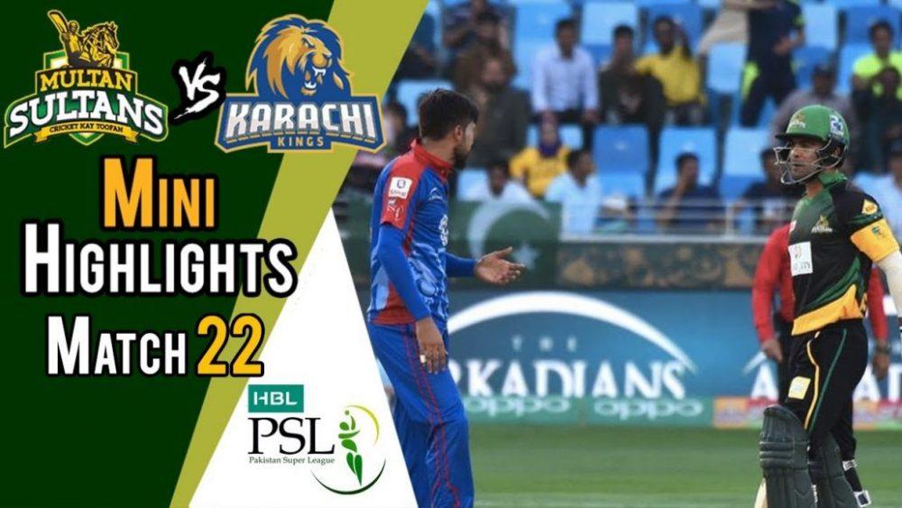 Photo of Psl 2018 Match 22 Highlights