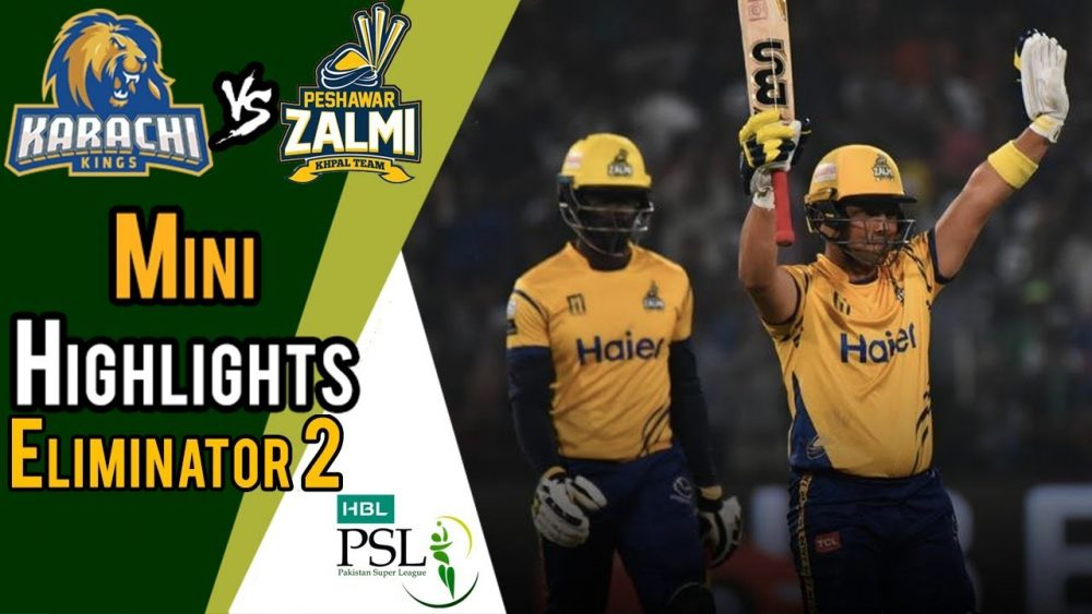 Photo of Psl 2018 Match 33 Elminater 2 Highlights