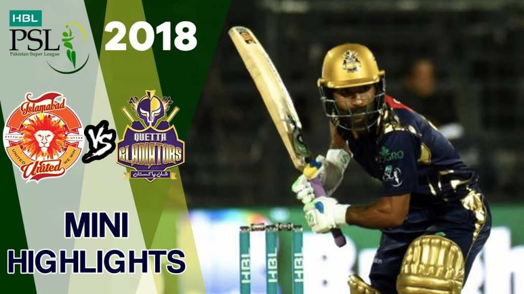 Photo of Psl 2018 Match 9 Highlights