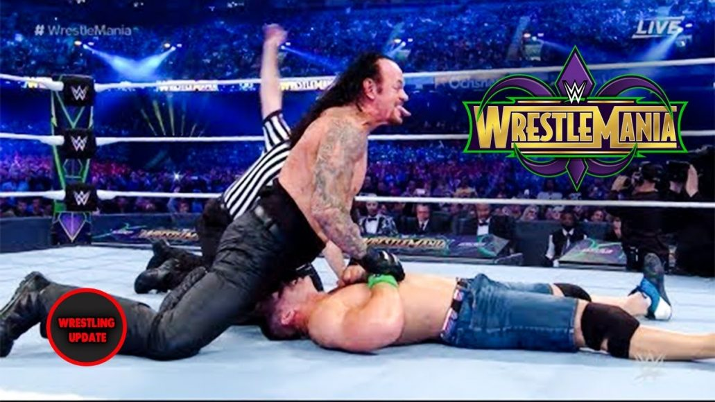 Photo of The Undertaker Vs John Cena At Wrestlmania 2018