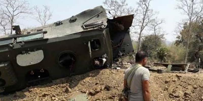Photo of بھارتی فورسز پر اپنے ہی ملک پرخوفناک حملہ ، متعدد اہلکار ہلاک