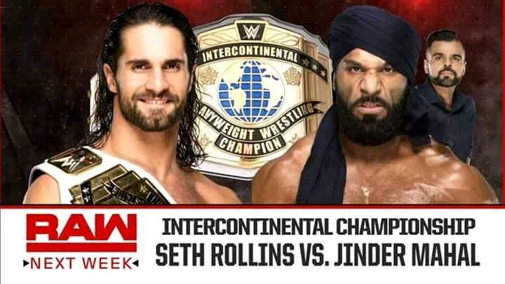 Photo of Seth Rollins Vs Jindar Mahal Next Week On Raw