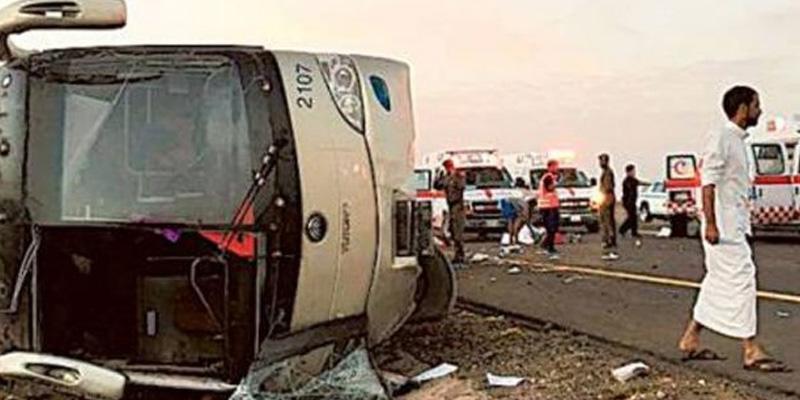Photo of سعودی عرب میں افسوسناک حادثہ، 9جاں بحق ، 13 زخمی ہوگئے،6 کی حالت تشویشناک ،زیادہ تر افراد کا تعلق ایشیائی ممالک سے ہے