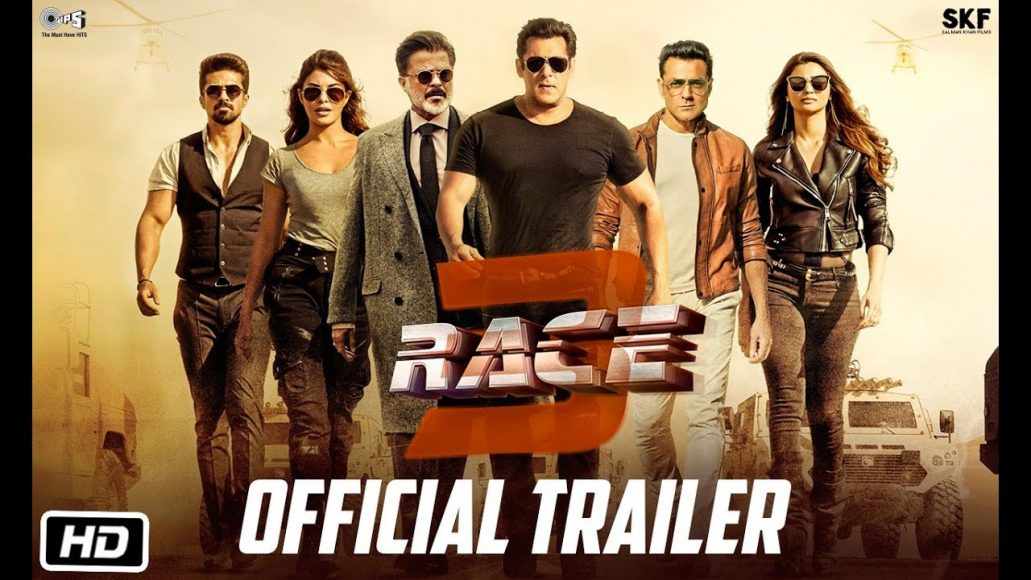 Photo of Salman Khan New Movie Race 3 Trailer Out