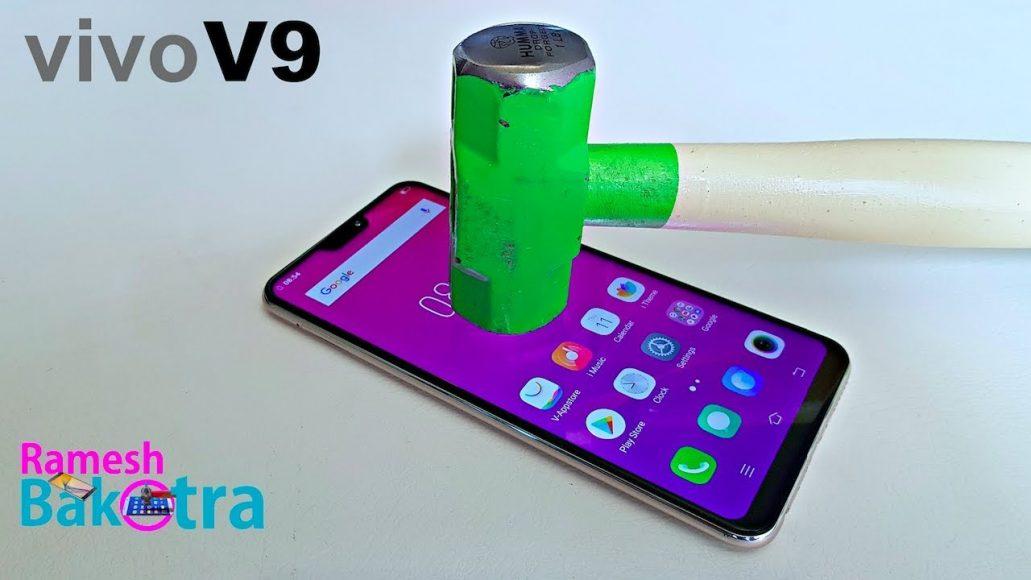 Photo of Vivo V9 Screen Test