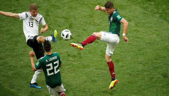 Photo of فٹبال ورلڈ کپ 2018: دفاعی چیمپئن جرمنی کو میکسیکو کے ہاتھوں اپ سیٹ شکست