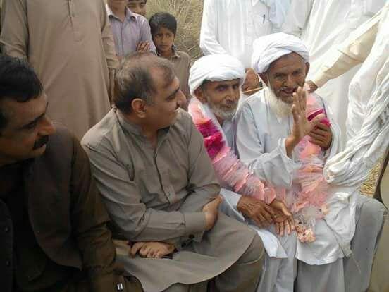 Photo of ملک احمد یار ہنجرا صاحب حلقہ 279 کوٹ ادو