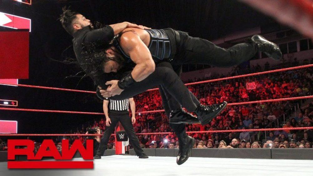 Photo of Roman Reigns vs. Sunil Singh: Raw, June 11, 2018
