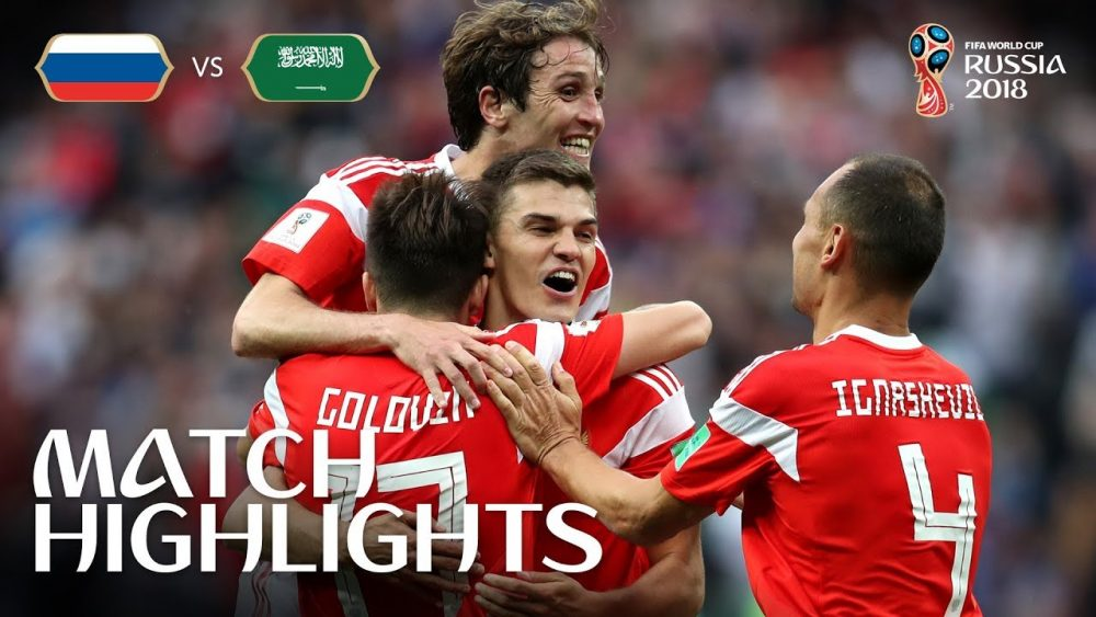 Photo of FIFA World Cup Russia 2018 Match 1 Highlights