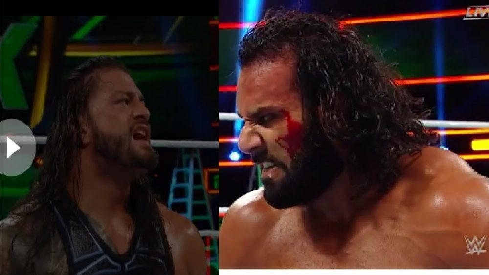 Photo of Roman Reigns Vs Jinder Mahal At Wwe Money In The Bank 2018