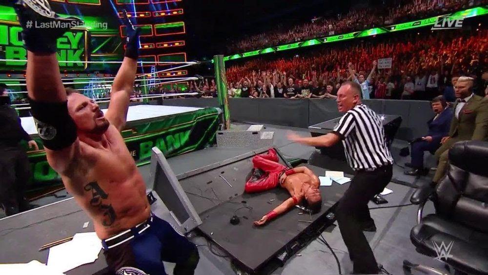 Photo of AJ Styles Vs Nakamura At Wwe Money In The Bank 2018