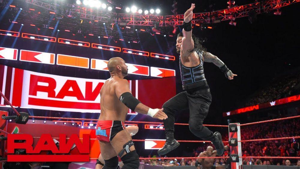 Photo of Roman Reigns & Bobby Lashley vs. The Revival: Raw, June 18, 2018