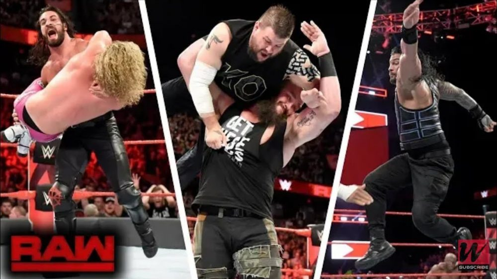 Photo of WWE Monday Night RAW 18/6/2018 Highlights HD