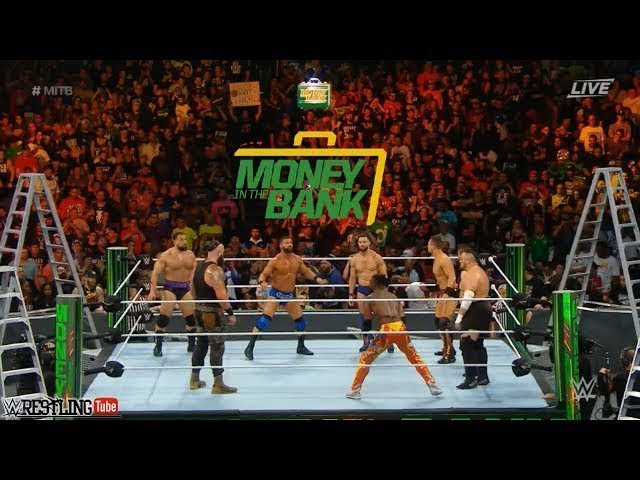 Photo of Men's Money in the Bank Ladder Match 2018