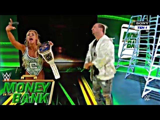 Photo of Asuka vs Carmella At Money in The Bank 2018