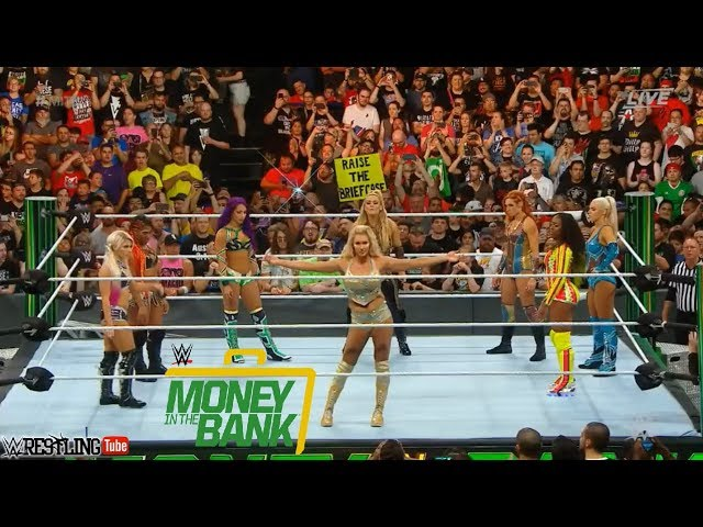 Photo of Women's Money in the Bank Ladder Match 2018