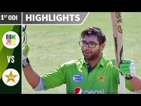 Photo of Pakistan vs Zimbabwe 1st ODI 2018 Full Highlights HD