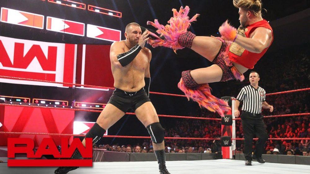 Photo of Tyler Breeze vs. Mojo Rawley: Raw, July 23, 2018