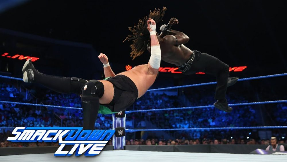 Photo of R-Truth vs. Samoa Joe: SmackDown LIVE, July 24 2018