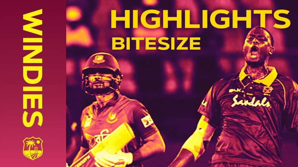 Photo of Windies v Bangladesh 2nd ODI 2018 | Bitesize Highlights