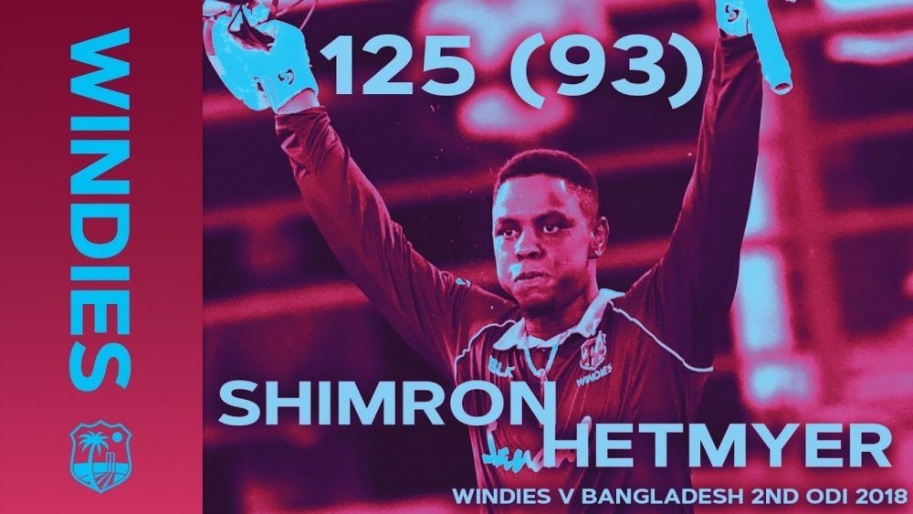 Photo of Hetmyer Becomes Youngest ODI Centurion On Home