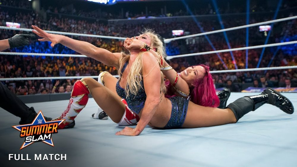 Photo of FULL MATCH – Banks vs. Flair – WWE Women's Title Match: SummerSlam 2016