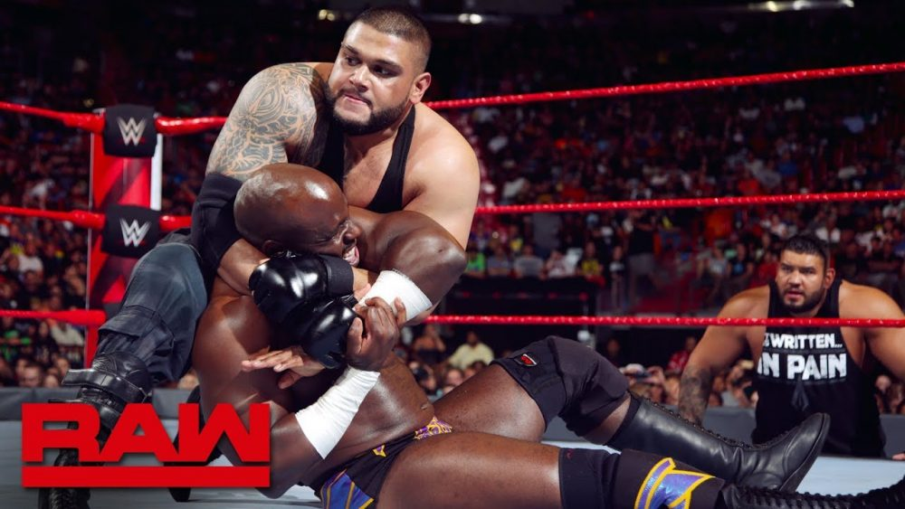 Photo of Apollo Crews vs. Akam: Raw, July 30, 2018