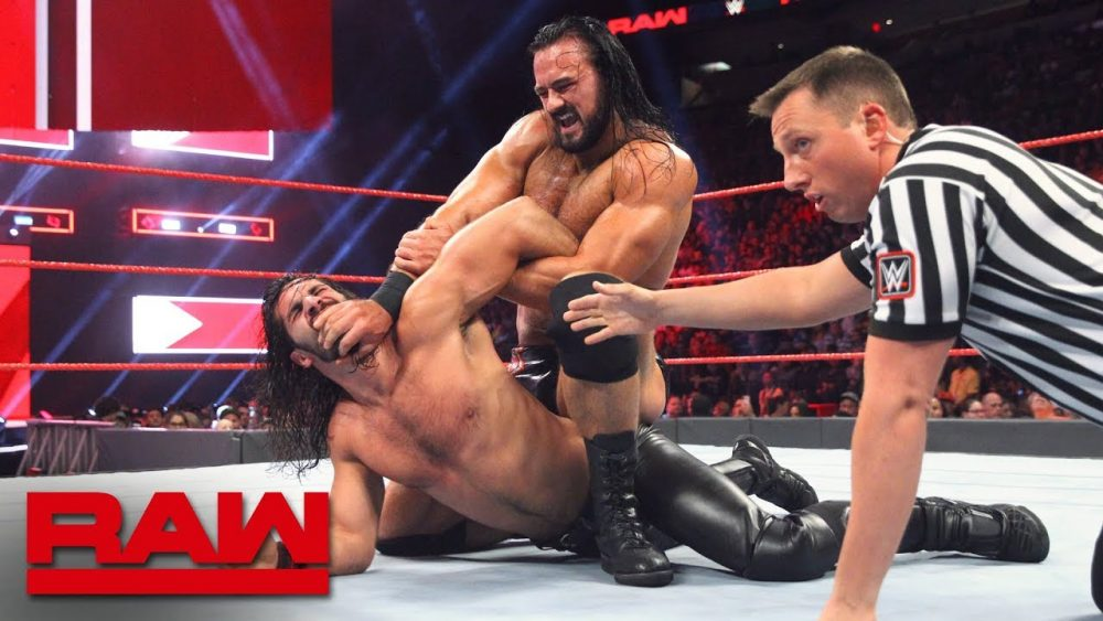Photo of Seth Rollins vs. Drew McIntyre: Raw, July 30, 2018
