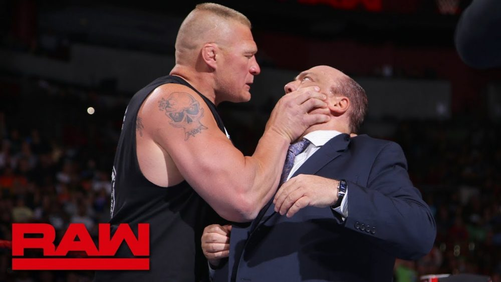 Photo of Brock Lesnar snaps and attacks Paul Heyman: Raw, July 30, 2018
