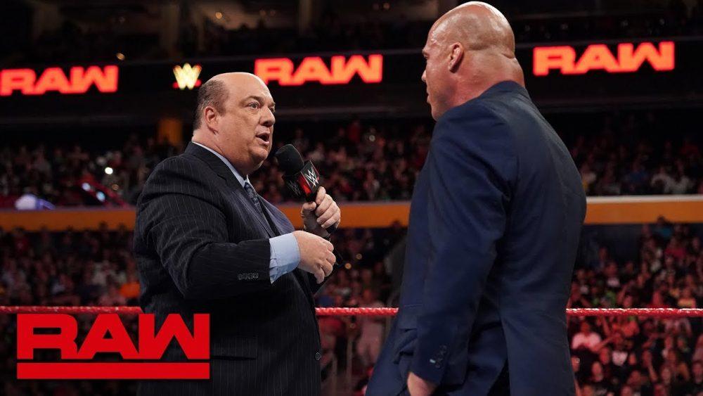 Photo of Paul Heyman answers Kurt Angle's ultimatum: Raw, July 16, 2018