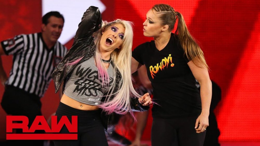 Photo of Ronda Rousey violates suspension to brutalize Alexa Bliss: Raw, July 16, 2018