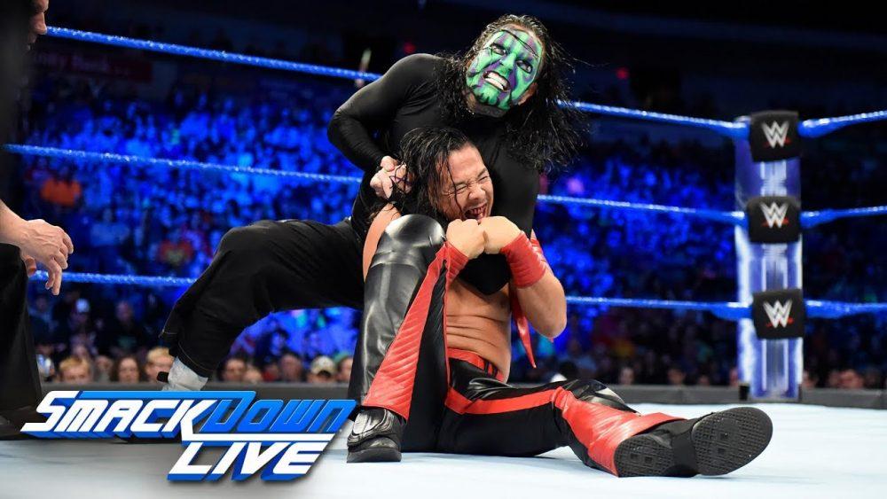 Photo of Jeff Hardy vs. Shinsuke Nakamura – United States Championship Match: SmackDown LIVE, July 17, 2018