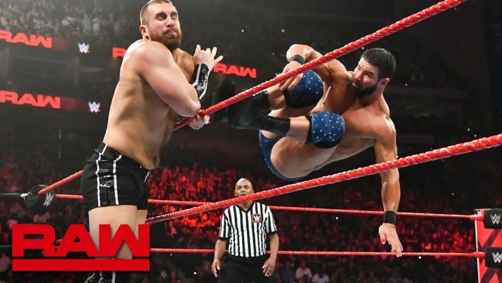 Photo of Bobby Roode vs. Mojo Rawley: Raw, Aug. 6, 2018