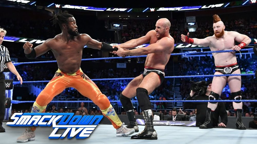 Photo of The New Day vs. The Bar – Tag Team Tournament Finals: SmackDown LIVE, Aug. 7, 2018