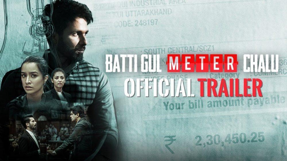 Photo of Official Trailer: Batti Gul Meter Chalu |Shahid Kapoor, Shraddha Kapoor
