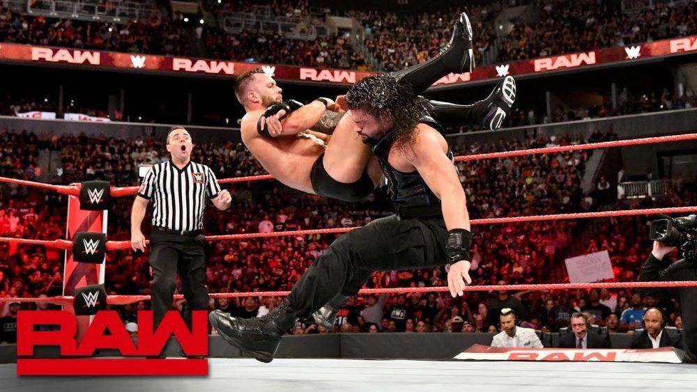 Photo of Roman Reigns vs. Finn Bálor – Universal Championship Match: Raw, Aug. 20, 2018